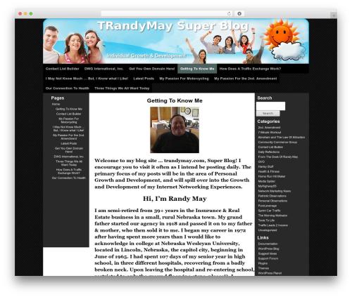 Theme WordPress GVOTheme - trandymay.com