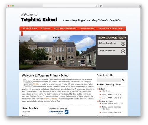 Theme WordPress Peekaboo - torphins.aberdeenshire.sch.uk