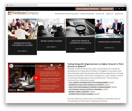 Theme WordPress Veda - thirdsectorcompany.com