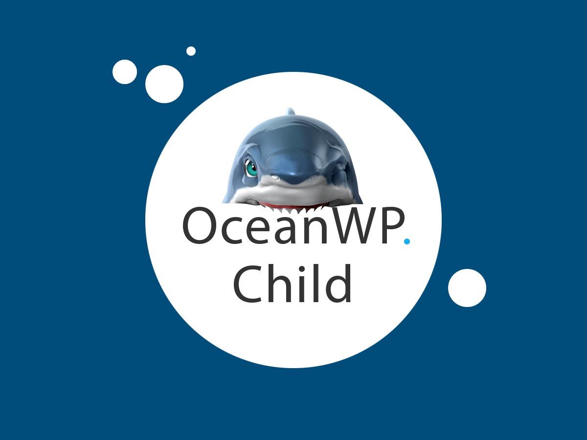WordPress theme OceanWP Child