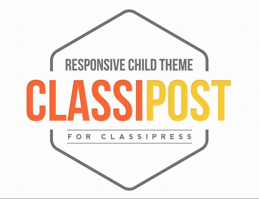 WP template ClassiPost