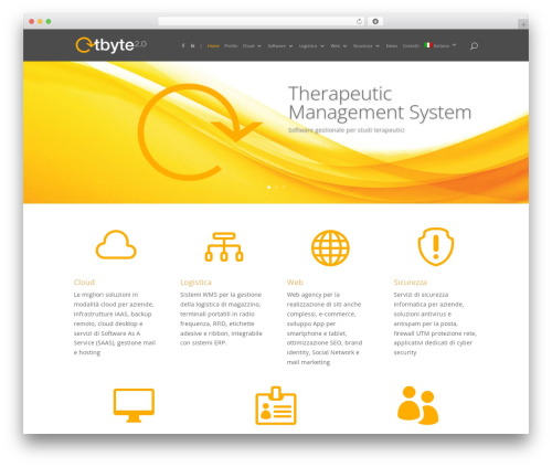 WP template Divi - tbyte.ch