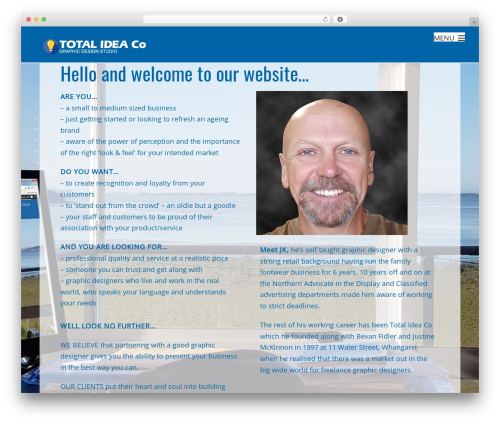 WP template Themify Fullpane - totalidea.co.nz