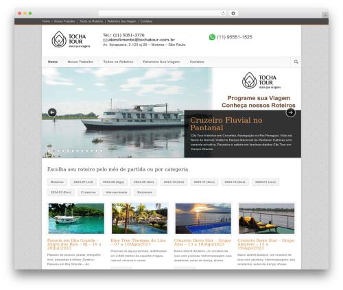 WP theme Modernize - tochatour.com.br