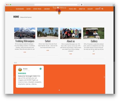 WP theme Salient - topafricatrek.com