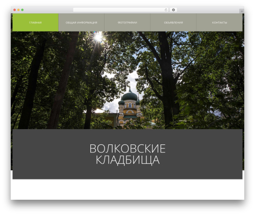 cherry WordPress template - volkovskoe-spb.ru