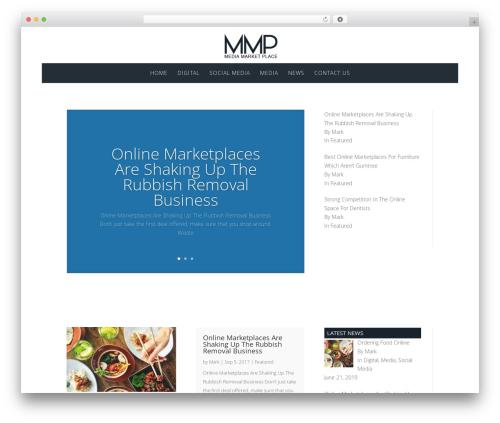 Divi WP template - mediamarketplace.org