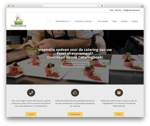 GeneratePress best WordPress theme - poldercatering.nl