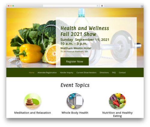 Free WordPress Slick Sitemap plugin - healthandwellnessshow.net