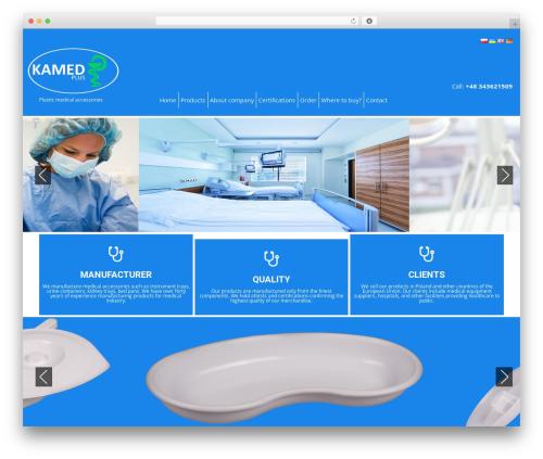 Healing Touch WordPress theme - kamedplus.pl