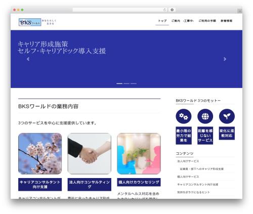 Lightning WordPress template free download - bksworld.biz