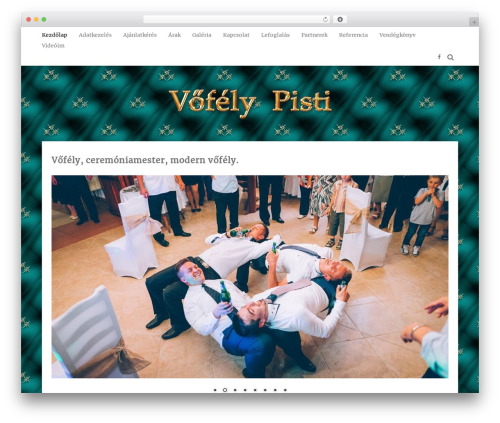 MayaSilk WordPress template free - vofelypisti.hu