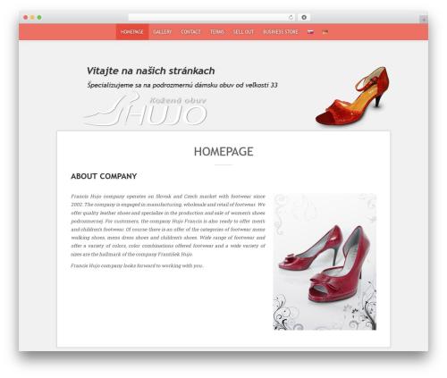 Sean Lite free website theme - hujo.sk