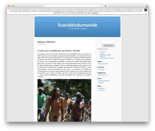 Thème par défaut WordPress theme - scandalsdumonde.unblog.fr