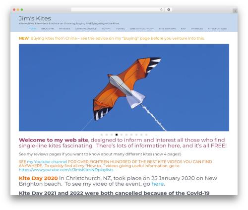 Unifield best WordPress video theme - jimskites.co.nz