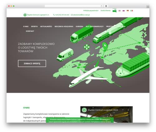 WordPress template Global Logistics - scl.com.pl