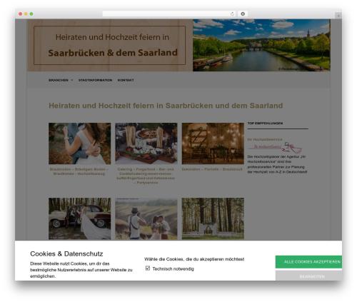 WordPress template The Retailer - hochzeit-feiern-saarbruecken.de