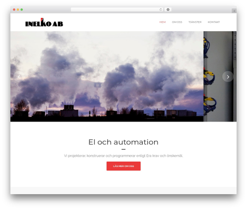 WordPress theme Tower - inelko.se