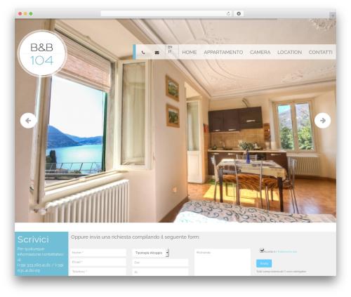 WordPress website template pump - bb104.it