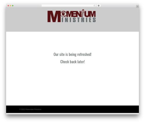 WP template Eden - momentuministries.org