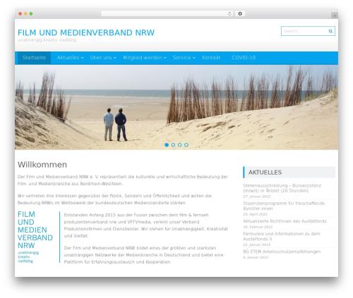 AccessPress Lite free WordPress theme - filmundmedienverbandnrw.de
