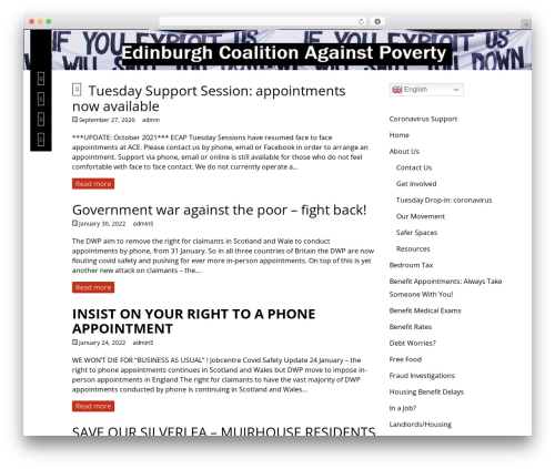Best WordPress theme Herschel - edinburghagainstpoverty.org.uk