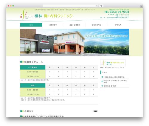 BizVektor WordPress theme - sakurabayashi.net