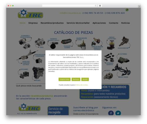 WordPress mt_testimonials plugin - trcrecambios.es