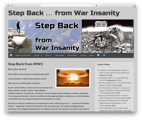 Gridiculous template WordPress free - step-back.org