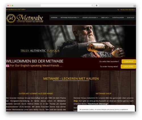 Modality best free WordPress theme - metwabe.de