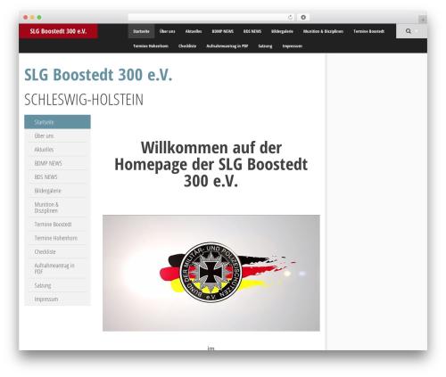 SmartAdapt template WordPress free - slgboostedt300.de