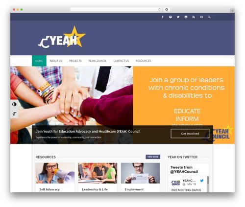 WordPress theme Benevolence Child Theme - yeahnh.org