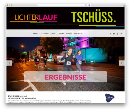 WordPress theme BMS - lichterlauf-hamburg.de