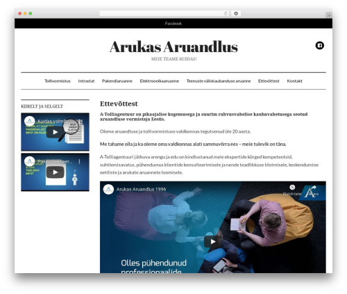 WordPress theme DailyMag - arukasaruandlus.ee