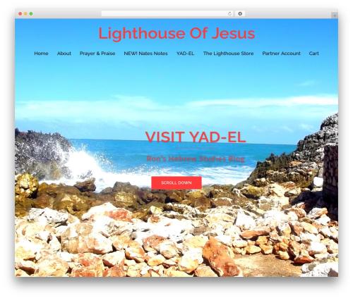 WordPress theme Sydney Pro Child - lighthouseofjesus.org