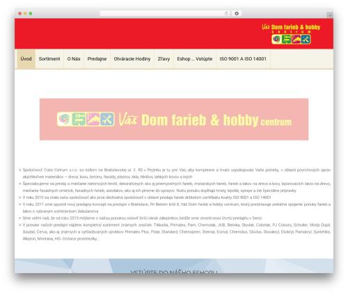 Accesspress Lite best free WordPress theme - colorcentrum.sk