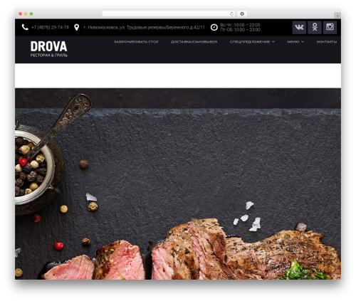 Bettaso theme WordPress - drovabar.ru