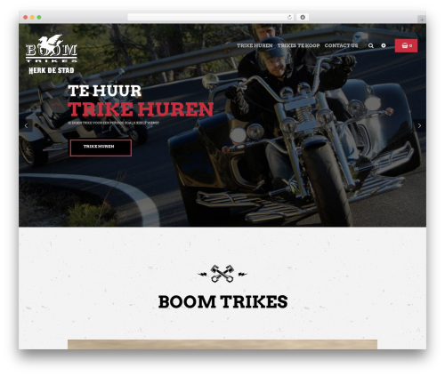 Bikersclub WordPress theme - trike.be