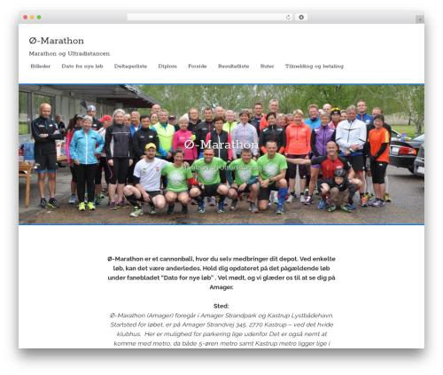 Flex-Lite WordPress theme - marathonlisse.dk