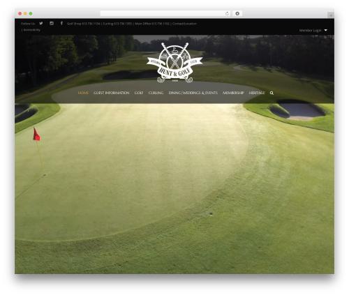 HorseClub WordPress template - ottawahuntclub.org