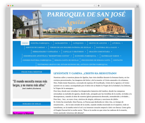 MH Newsdesk lite WordPress template free download - parroquiasanjoseaguilas.org