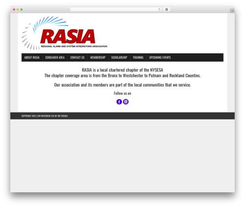 MH Newsdesk lite WordPress theme - rasiaweb.org