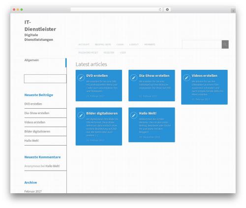 Theme WordPress Metro CreativeX - it-dienstleister.info