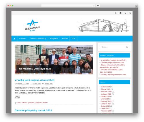 Theme WordPress Smartline - alumnigjk.cz
