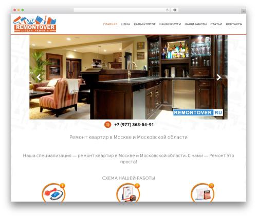 AccessPress Parallax WordPress template free - remontover.ru