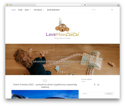 Activello WordPress blog theme - lovemoncziczi.pl