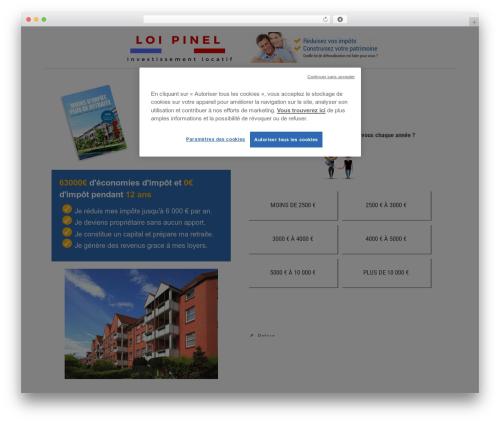 Beaver Builder Theme best WordPress template - investissement-loi-pinel.org