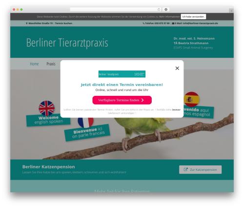 Beaver Builder Theme WordPress page template - berliner-tierarztpraxis.de