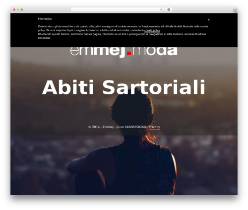 Best WordPress template Padhang - emmej.moda