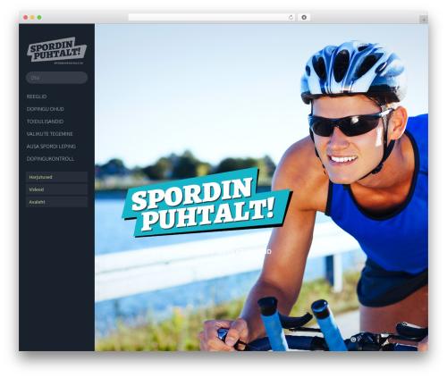 Free WordPress SlickQuiz plugin - spordipuhtalt.ee